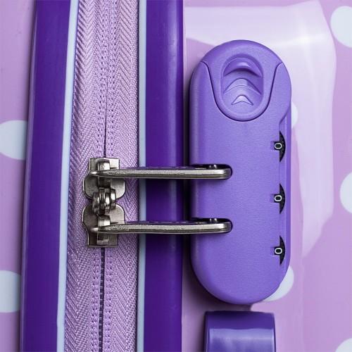664504 maleta cabina skpa t topos malva cerradura combinación