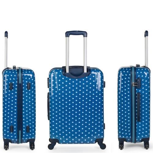 66460 03 maleta mediana skpa t topos tejano vista lateral y trasera
