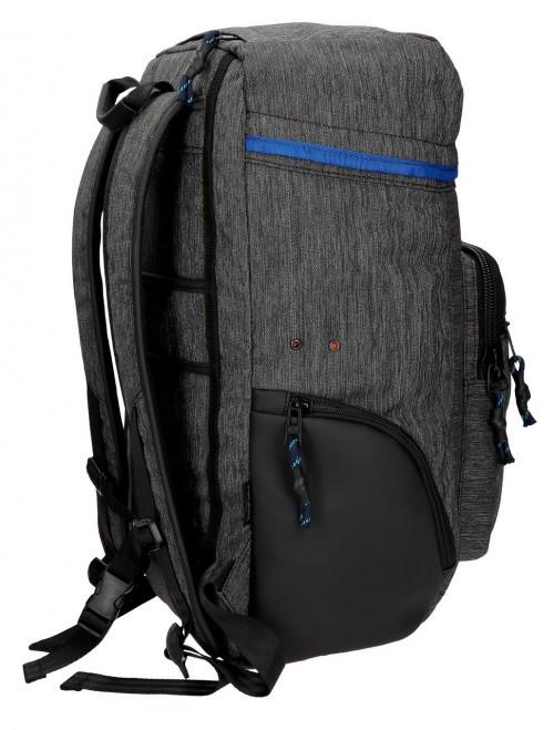 7612561 mochila portaordenador pepe jeans raw lateral