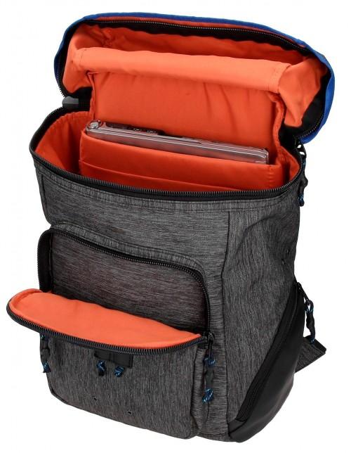 7612561 mochila portaordenador pepe jeans raw lateral interior