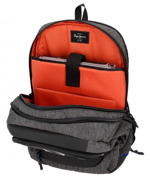 7612861 mochila portaordenador 44 cm pepe jeans raw interior