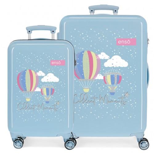 9031621 juego maletas cabina y mediana enso collect moments