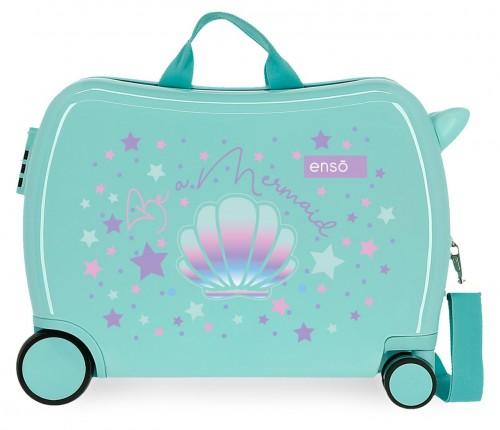 9059821 maleta infantil 4 ruedas enso be a mermaid