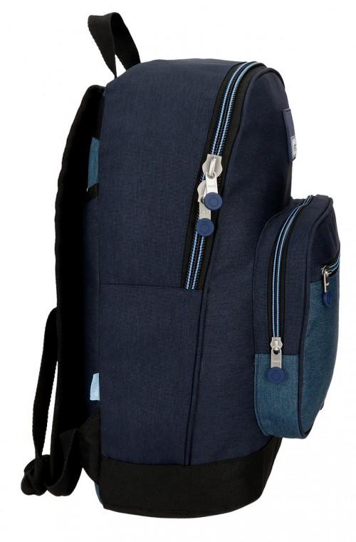 9182361 mochila portaordenador 42 cm enso blue lateral
