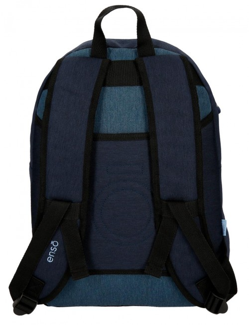 9182361 mochila portaordenador 42 cm enso blue trasera