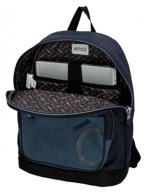 9182361 mochila portaordenador 42 cm enso blue interior