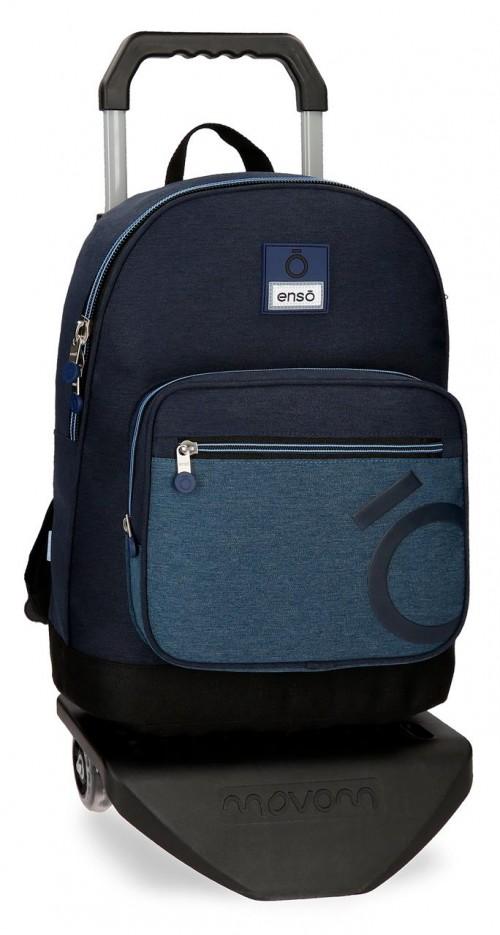 91823N1 mochila portaordenador 42 cm carro enso blue