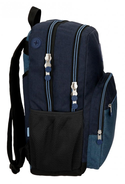9182461 mochila 44cm doble c. enso blue lateral