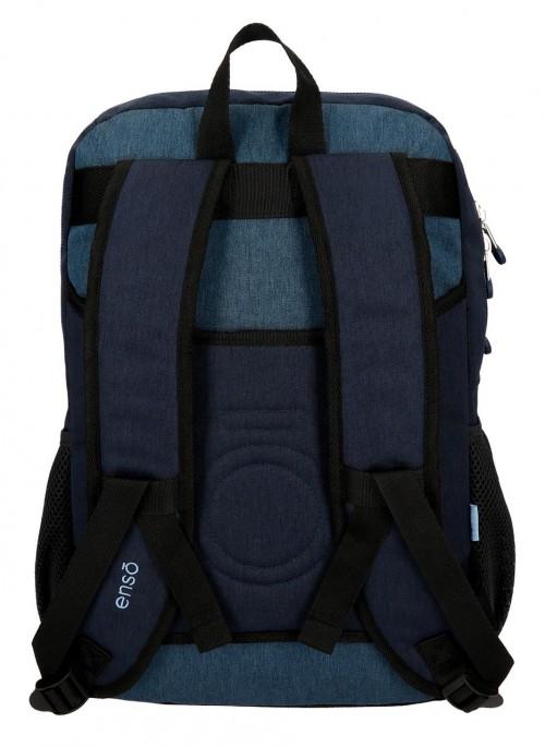 9182461 mochila 44cm doble c. enso blue trasera