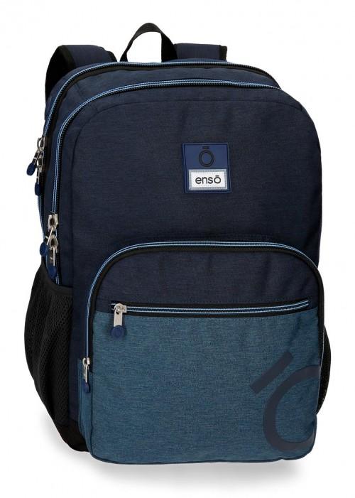 9182461 mochila 44cm doble c. enso blue