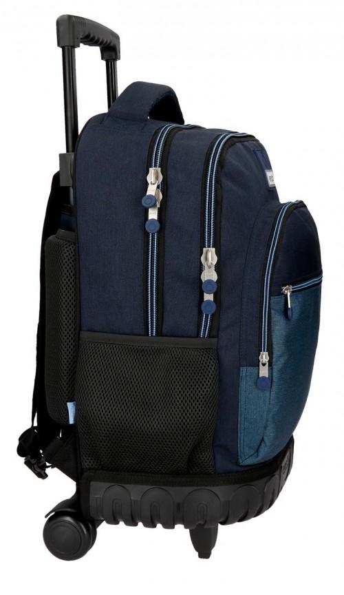9182961 mochila compacta reforzada enso blue lateral