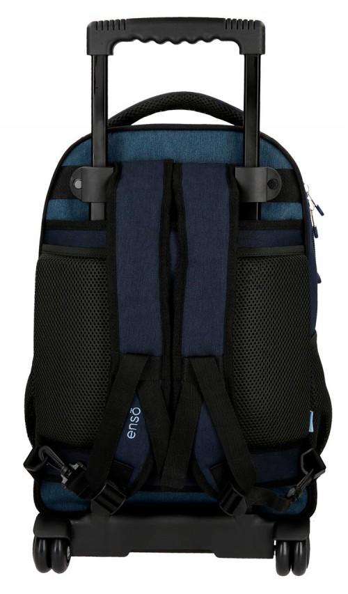 9182961 mochila compacta reforzada enso blue trasera