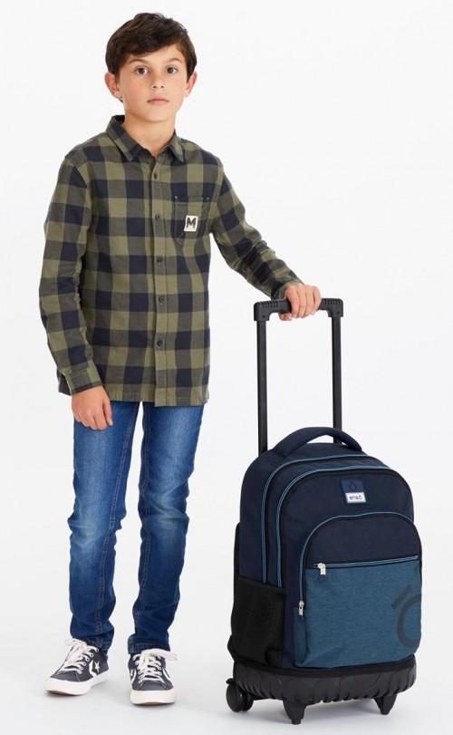 9182961 mochila compacta reforzada enso blue detalle 2