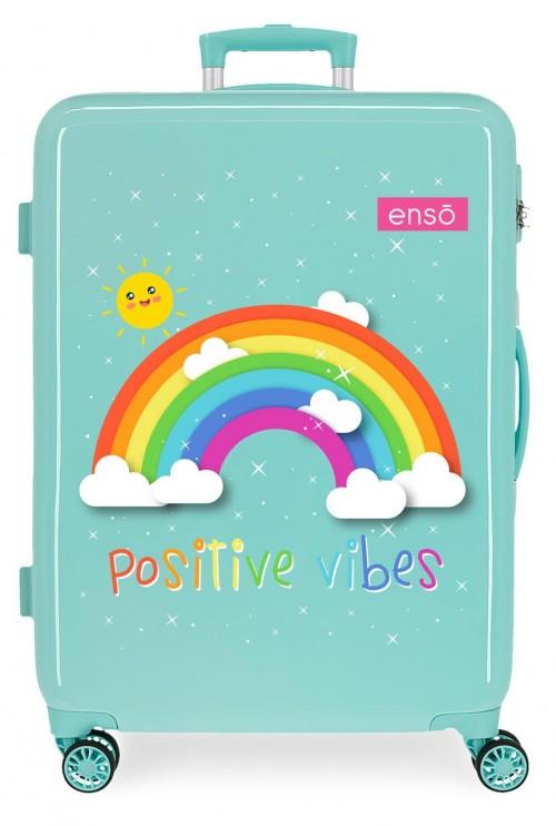 9221821 maleta mediana arcoiris enso positive vibes