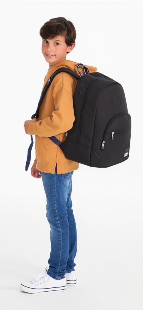 9242361 mochila 46 cm adaptable enso basic negro detalle