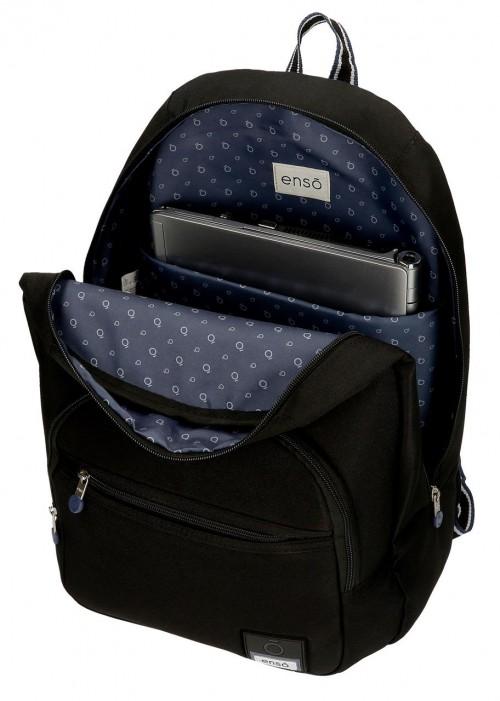 9242361 mochila 46 cm adaptable enso basic negro portaordenador