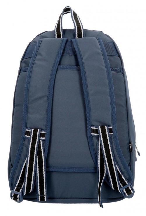 9242362 mochila 46 cm adaptable enso basic azul trasera
