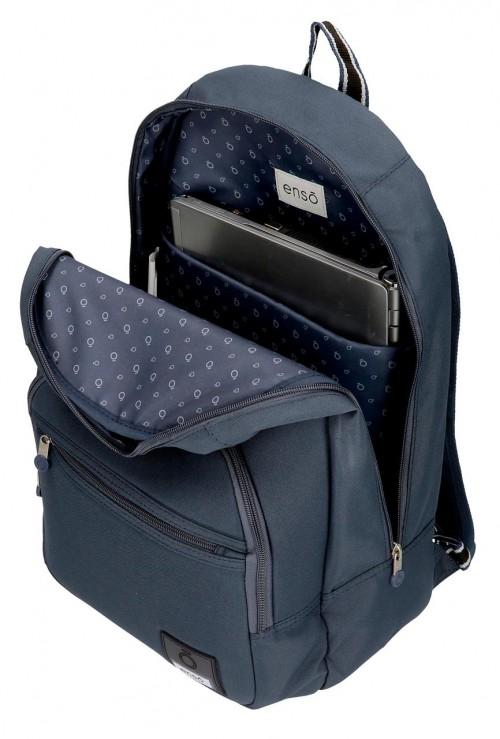 9242362 mochila 46 cm adaptable enso basic azul portaordenador
