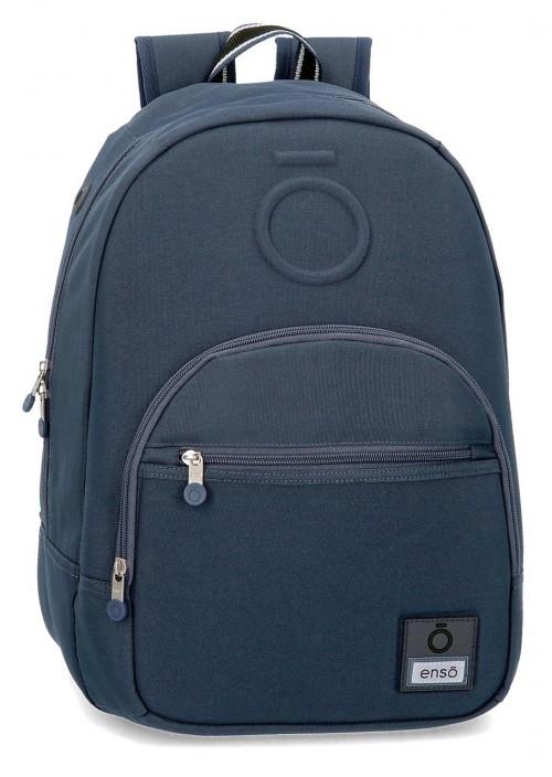 9242362  mochila 46 cm adaptable enso basic azul