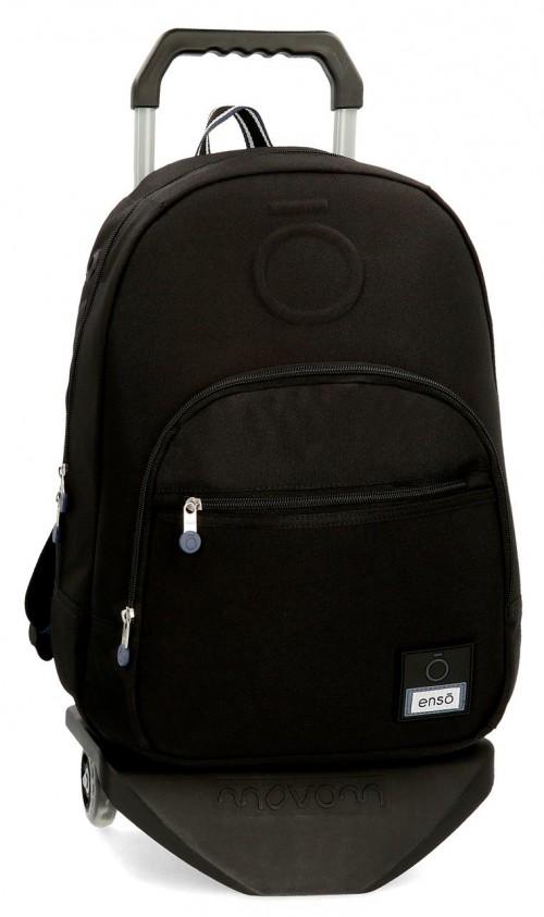 92423N1 mochila 46 cm con carro enso basic negro
