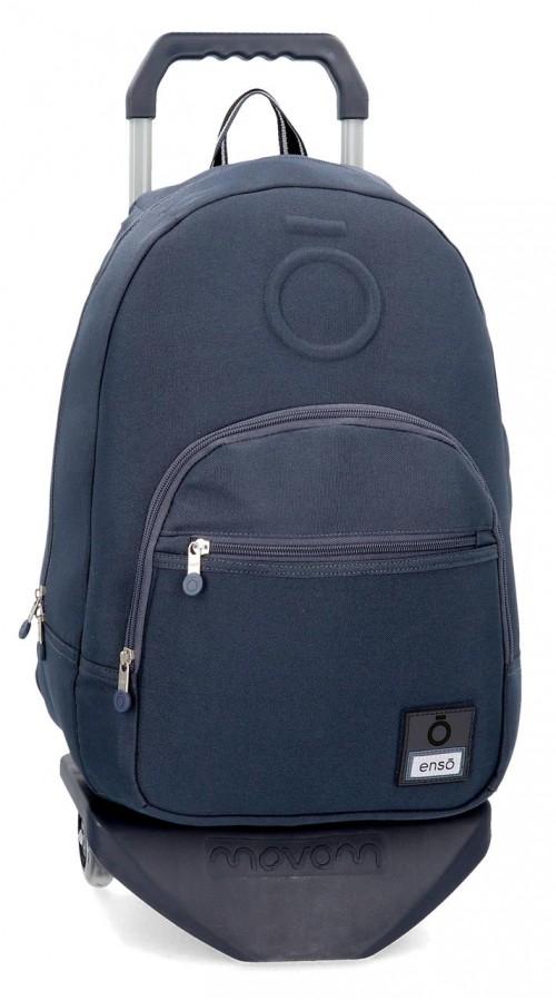 92423N2 mochila 46 cm con carro enso basic  azul