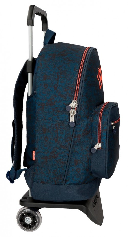92523N1 mochila 40 cm carro enso monsters lateral
