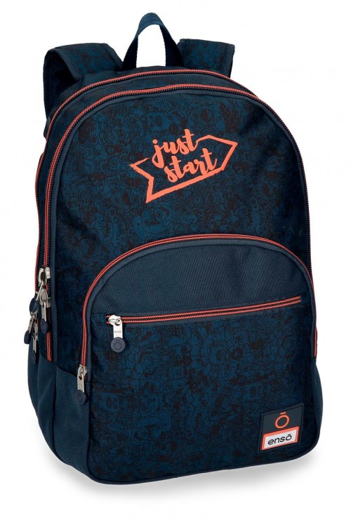 9252461 mochila 44 cm doble compartimento enso monsters