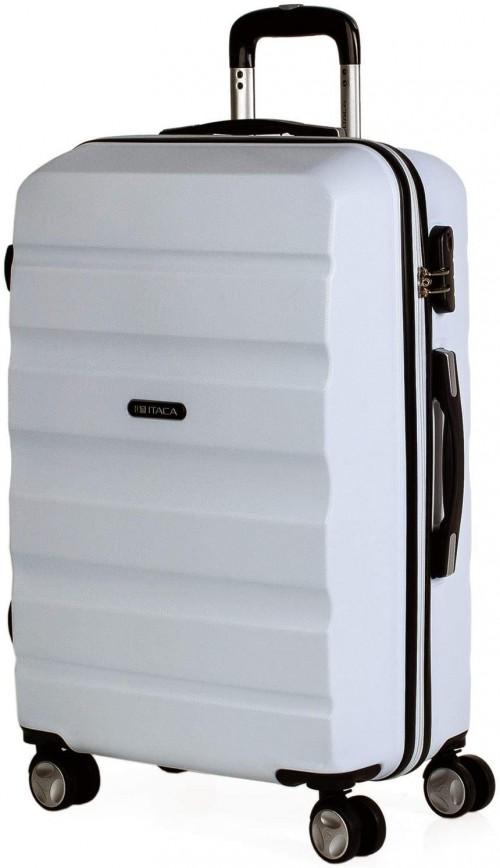 T71660-03 maleta mediana itaca elba blanco