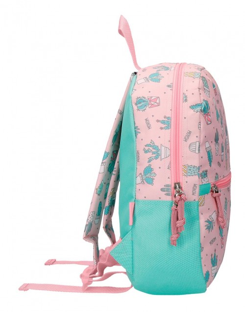 3432261 mochila pequeña 32 cm movom cactus rosa lateral