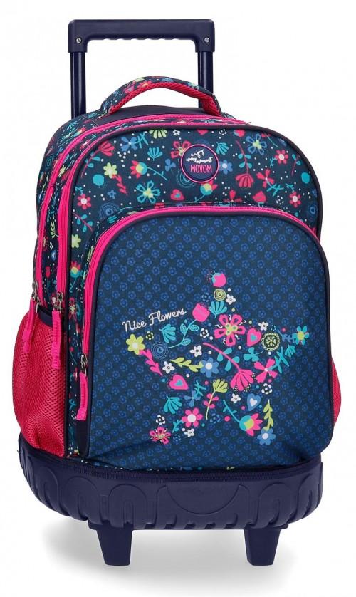 3442961 mochila compacta reforzada movom n. flowers