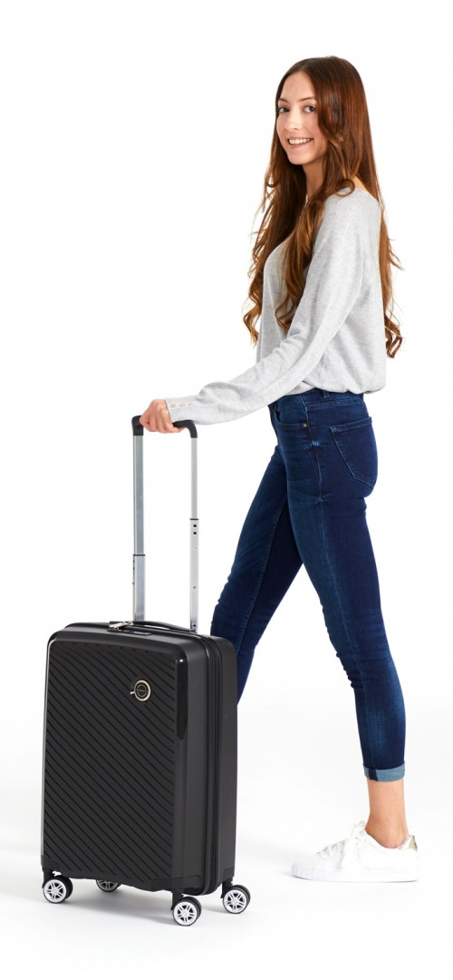5879161 maleta cabina polipropileno movom tokyo negro detalle