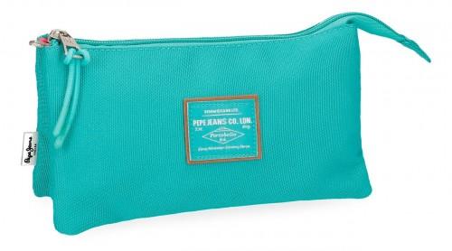 6224368  portatodo triple pepe jeans cross verde
