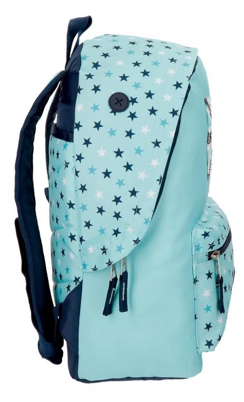 6272361 mochila 42 cm pepe jeans cuore adaptable lateral