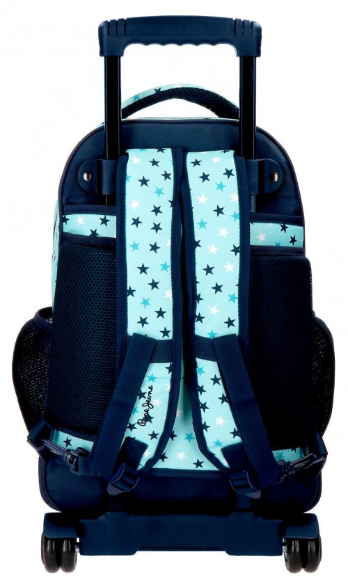 6272961 mochila compacta reforzada pepe jeans cuore trasera