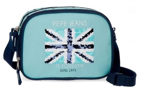 6275961 bandolera doble c. pepe jeans cuore