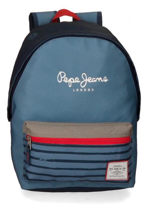 6332361 mochila 42 cm adaptable pepe jeans yarrow