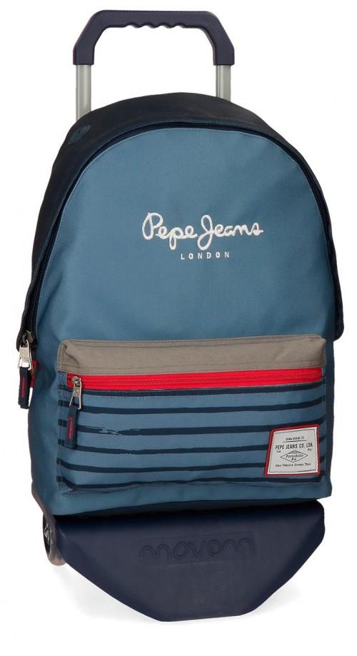 63323N1 mochila 42 cm carro pepe jeans yarrow