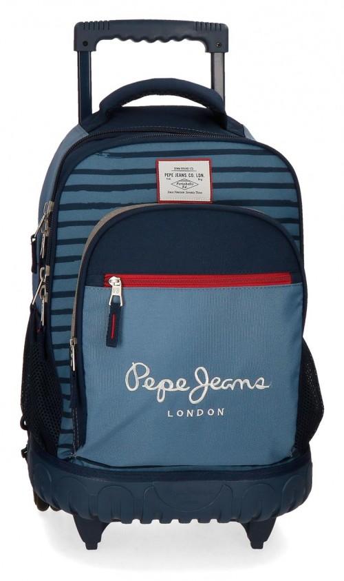 6332961 mochila compacta reforzada pepe jeans yarrow