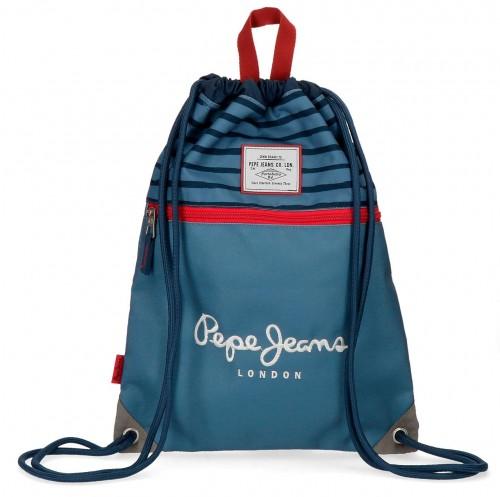 6333761 gym sac con cremallera pepe jeans yarow