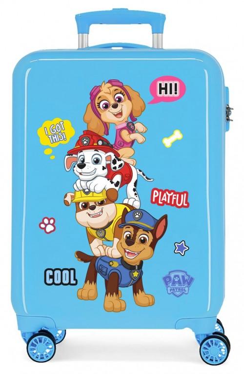 2191721 maleta de cabina patrulla canina play full en color azul