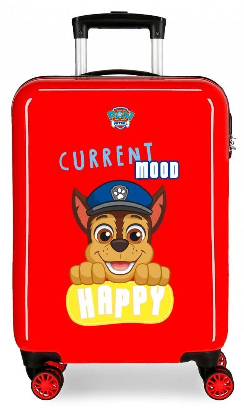 2191722 maleta de cabina patrulla canina playful en color rojo