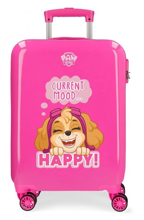 2191723 maleta de cabina patrulla canina playful en color rosa