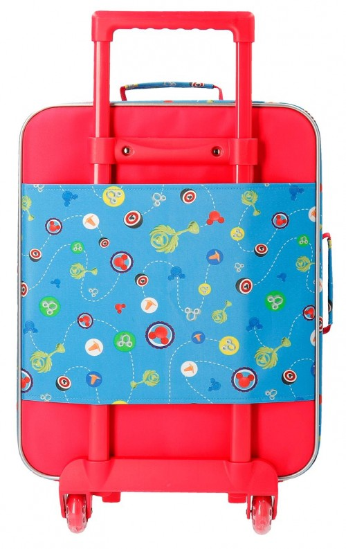 2369061 maleta infantil 2 ruedasworld mickey trasera