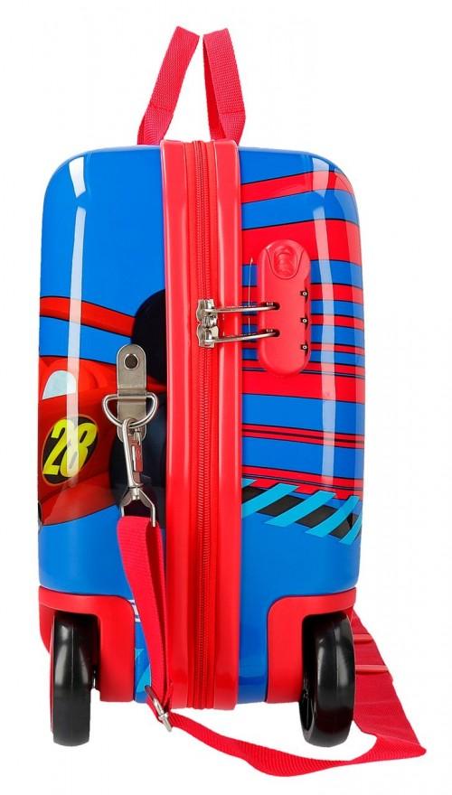 2369861 maleta infantil wold mickey ruedas delanteras multidireccionales  lateral