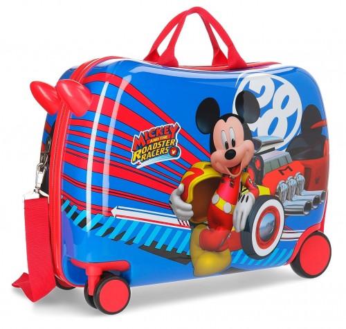 2369861 maleta infantil wold mickey ruedas delanteras multidireccionales