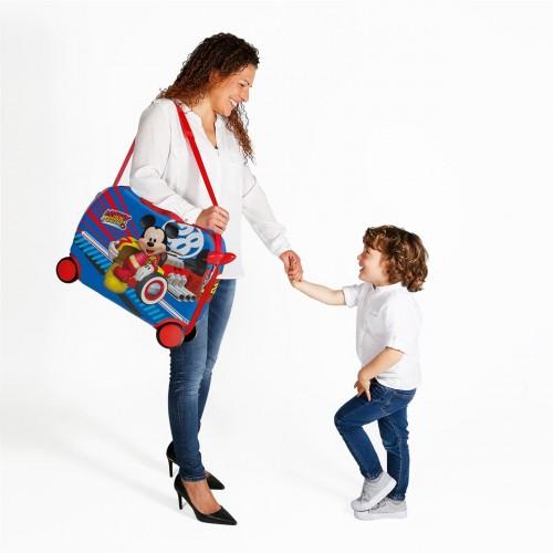 2369961 maleta infantil world mickey 4 ruedas detalle  3