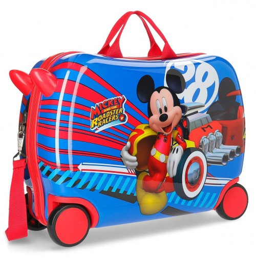 2369961 maleta infantil world mickey 4 ruedas