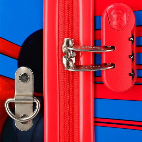 2369961 maleta infantil world mickey 4 ruedas cerradura de combinación