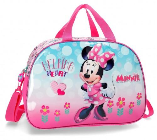 2373261 bolsa de viaje 40 cm minnie heart