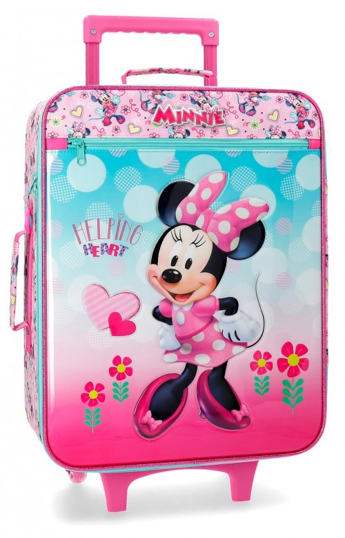 2379061 maleta cabina 2 ruedas minnie heart